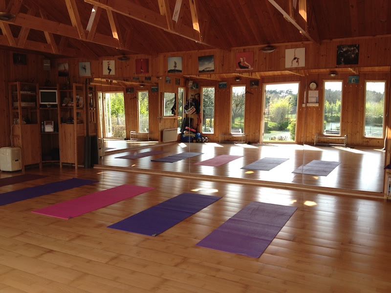 yoga studio in Sunninghill, near Windlesham and Ascot, Surrey and Berkshire
